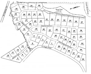 Ridgeview Subdivision Map